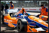 Indy Car Hot Pits
