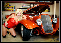 HOT RODS and HOT MODELS (Select model Shoot)